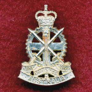 Collar Badge - Army Apprentices School 60/85