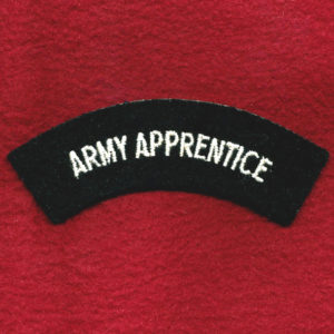 Shoulder Title - ARMY APPRENTICE (u/b)