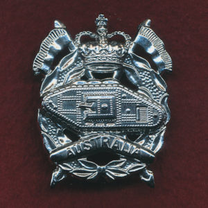 RAAC - Hat Badge post 1997