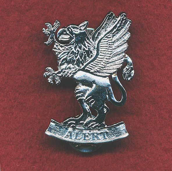 Hat Badge - 1st Aviation Regt - (2nd pattern)