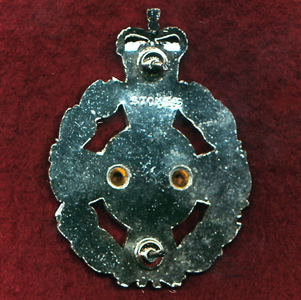 Hat Badge - RAAChD - Christian Chaplain  (StayBrite period)