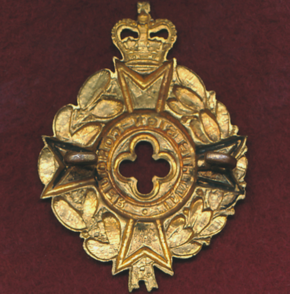 Cap Badge - RAAChD - Christian Chaplain  1953-60