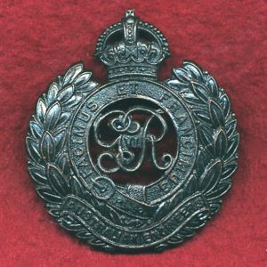 Hat Badge - Aust Engineers 1930-42 (King George VI)
