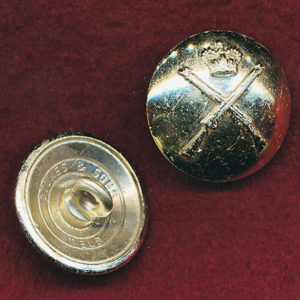 RA INF - Button (Large) (anodised gilt)