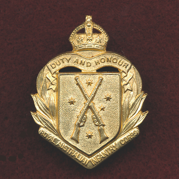 RA INF Hat Badge 1948-53