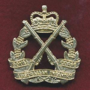 RA INF - Hat Badge ca 1990s