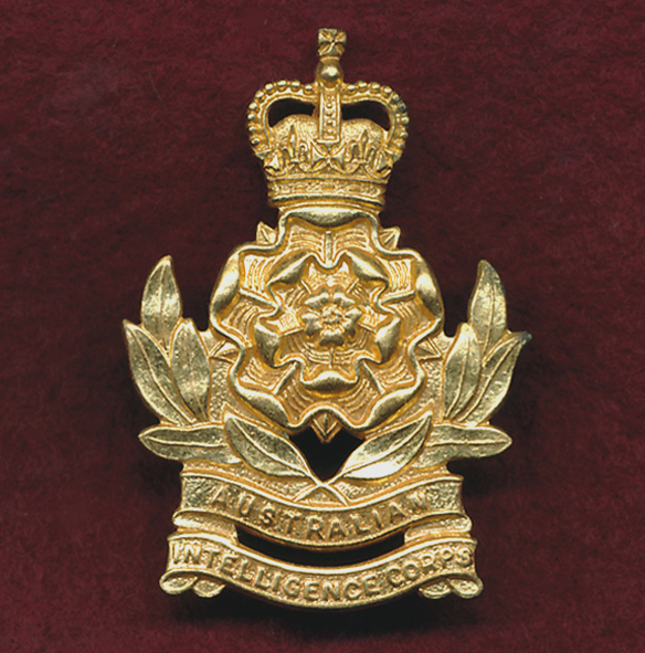 Hat Badge - Intelligence Corps  1953-60