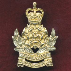 Hat Badge - Intelligence Corps 1960-90s)