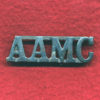 Shoulder Title - AAMC Aust Army Medical Corps