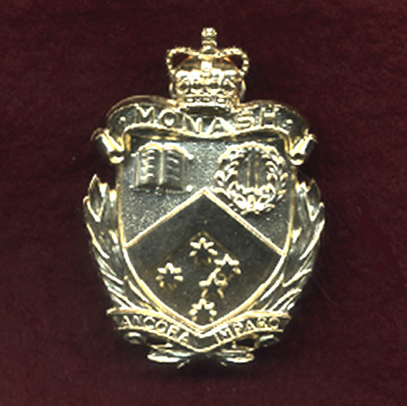 Monash University Regiment Hat Badge 60/85