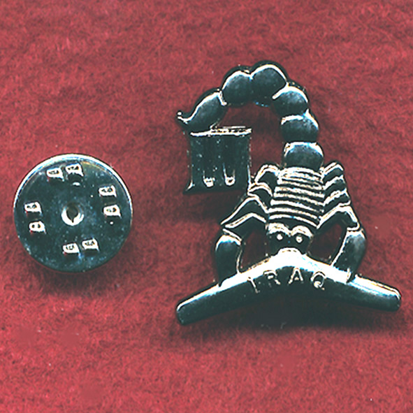 3/4 Cav Regt Lapel Pin  (Iraq)