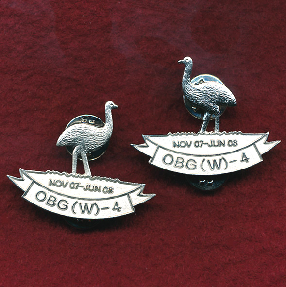 2/14 LH Regt Lapel Pin  (Iraq)