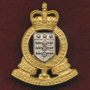 Hat Badge - RAAOC 1953-60