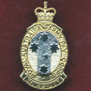 Hat Badge - RAAPC  (A/A)