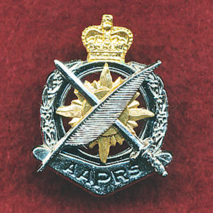 Collar Badge - Public Relations (w/R)