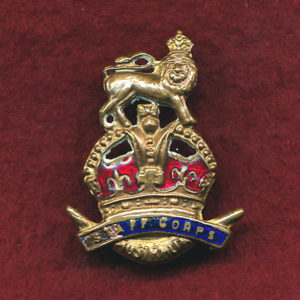 Collar Badge - Staff Corps (1921) (w/right)