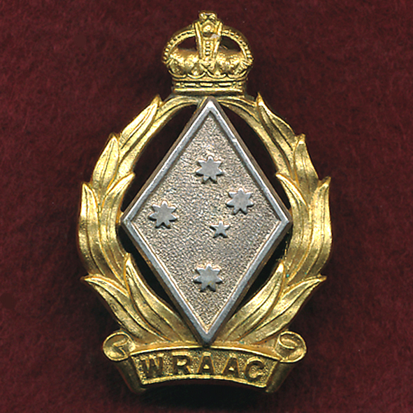 Hat / Collar Badge - WRAAC (48-53)