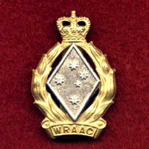 Hat / Collar Badge - WRAAC (53-60)