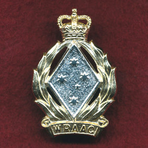 Hat / Collar Badge - WRAAC (60-85)