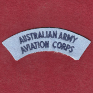 Shoulder Title - AAAvn Corps -  (u/b)