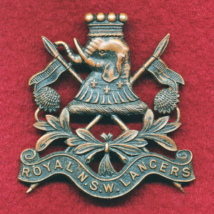 1/21st LHR Hat Badge  (30/42)