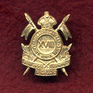 18 LH Regt - Collar Badge (Adelaide Lancers)