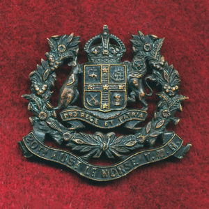 20 LH Regt - Hat Badge (VMR) (Oxy)