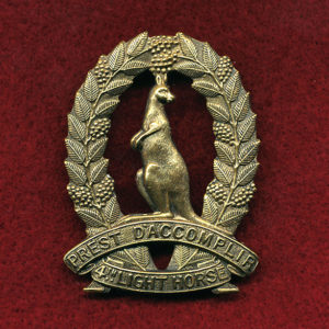 4 LH Regt - Hat Badge (Corangamite Light Horse) 30/42