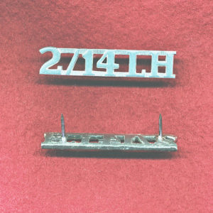 2/14 LHR - Shoulder Title (x1) (ca90s)