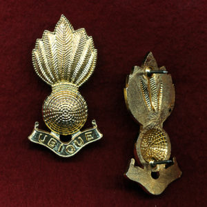Collar Badge - RAA (Officers) A/A (x1)