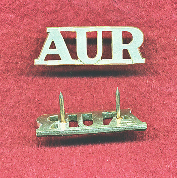 AUR - Shoulder title  (A/A)  (x1)
