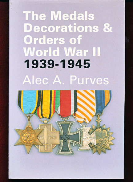 MEDALS, DECORATIONS  & ORDERS of World WAR 2