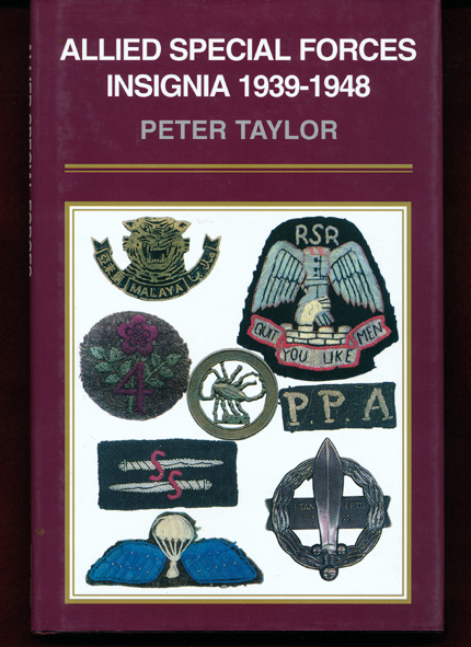 ALLIED SPECIAL FORCES INSIGNIA 1939-1948  (P. Taylor)