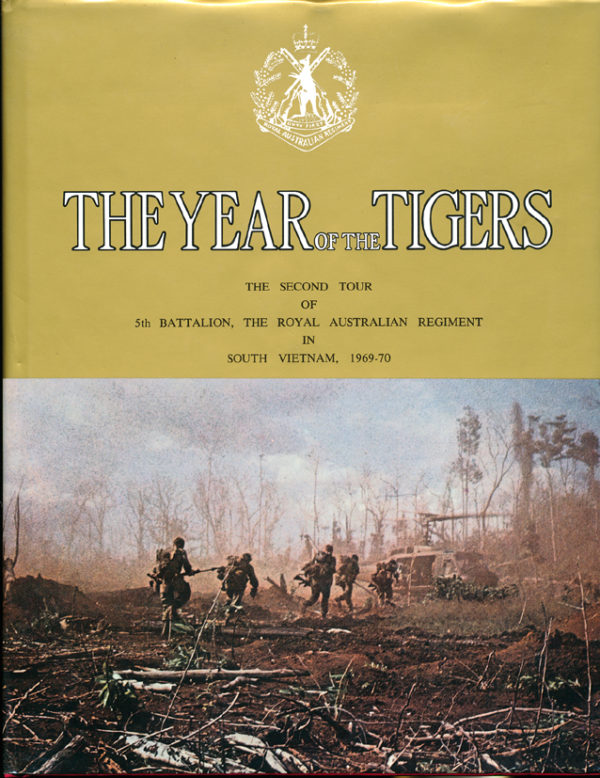 THE YEAR OF THE TIGERS  - 5RAR in SVN  69/70