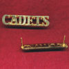 CADET  Corps Shoulder Title - (x1)