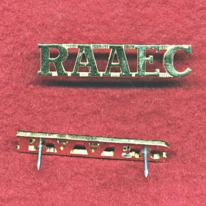 Shoulder Title -   RAAEC  (A/A)