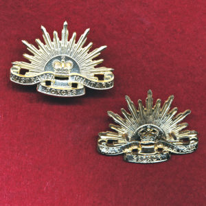 Collar Badge - G.S Rising Sun (AMF) (DecimalTooling)