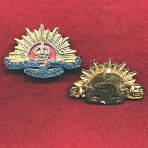 ADMIN & INSTR STAFF CORPS Collar Badge  (00/12)