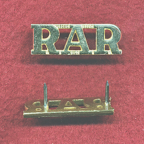 RAR Shoulder Title (A/A)