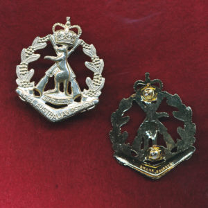 RAR Collar Badge (w/L) (A/A)