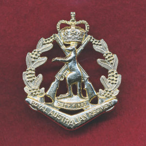 RAR Hat Badge (60s/90s)