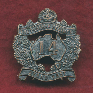 14 INF BN Collar Badge (30/42)(Oxy)