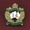 14 INF BN Collar Badge (Offrs)
