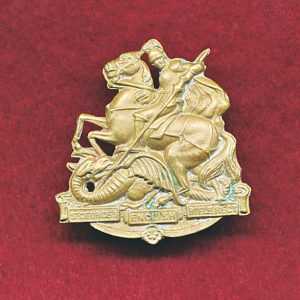 36 INF BN Collar Badge (w/L)  (30/42)