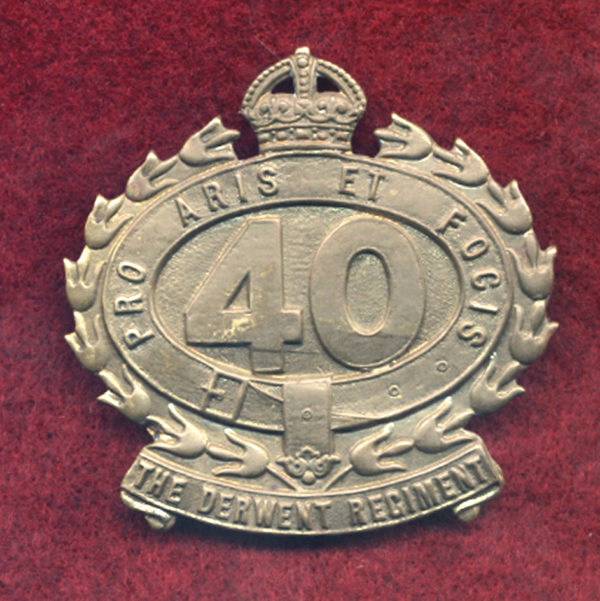40 INF BN Hat Badge (Derwent)  (30/42)