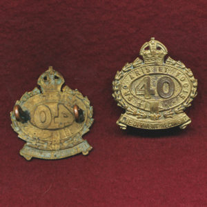 40 INF BN Collar Badge (Derwent)  (30/42)