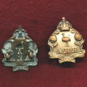 ARR (NSW) Collar Badge  (00/12)