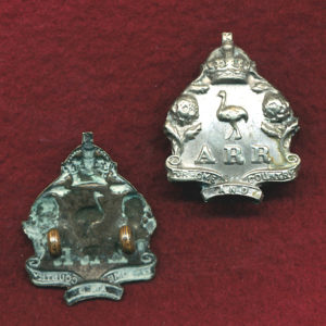 ARR (NSW) Collar Badge  (w/m)  (00/12)