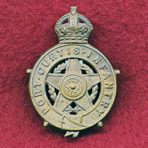 Port Curtis Infantry Collar Badge (00/12)