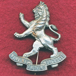 Victorian Scottish Regiment Sporran Badge